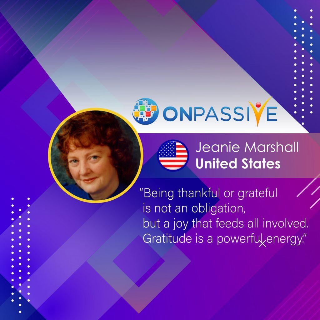 Gratitude is a powerful energy