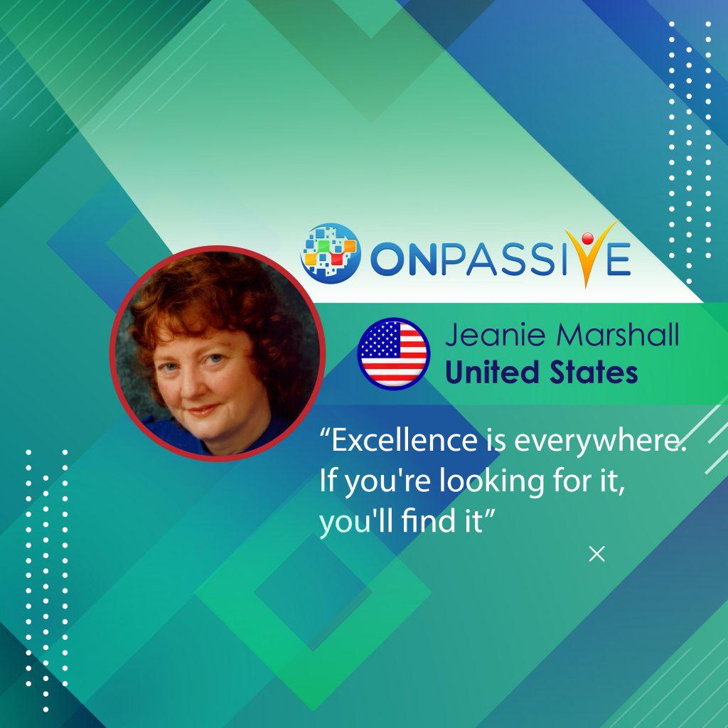 Jeanie Marshall - community sites