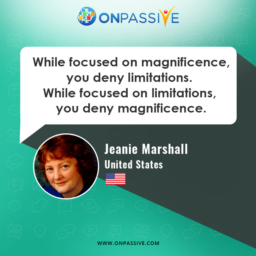 ONPASSIVE Community - Jeanie Marshall