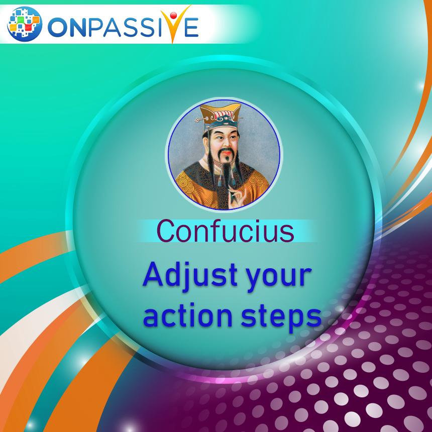 adjust your action steps