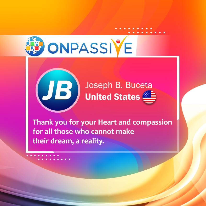 Joseph B Testimonial