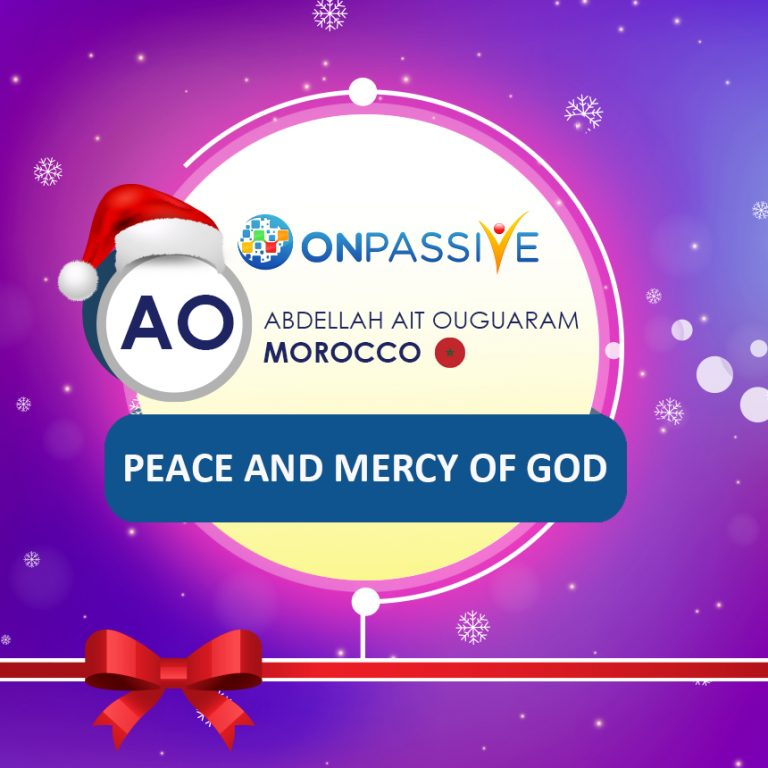 Peace and mercy