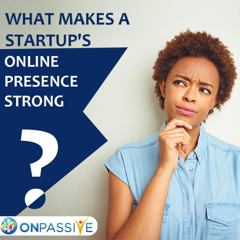 Startups online presence