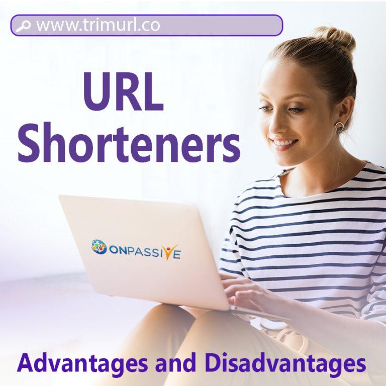 advantages and disadvantages of url shorteners
