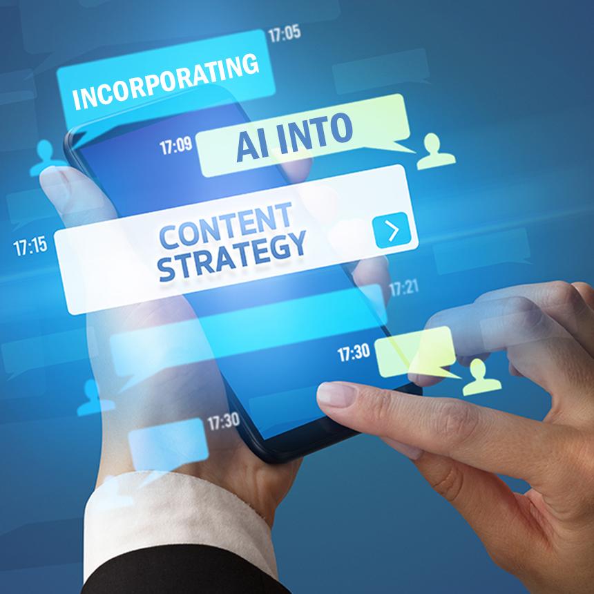 AI Into Content Strategy
