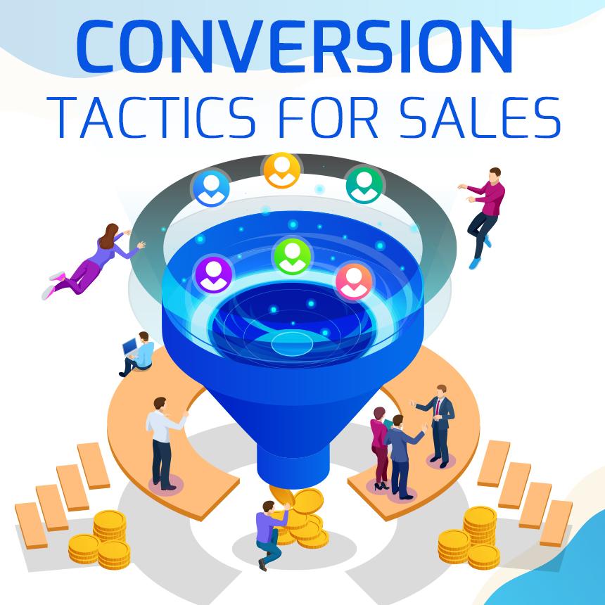 Conversion In A Sales Funnel