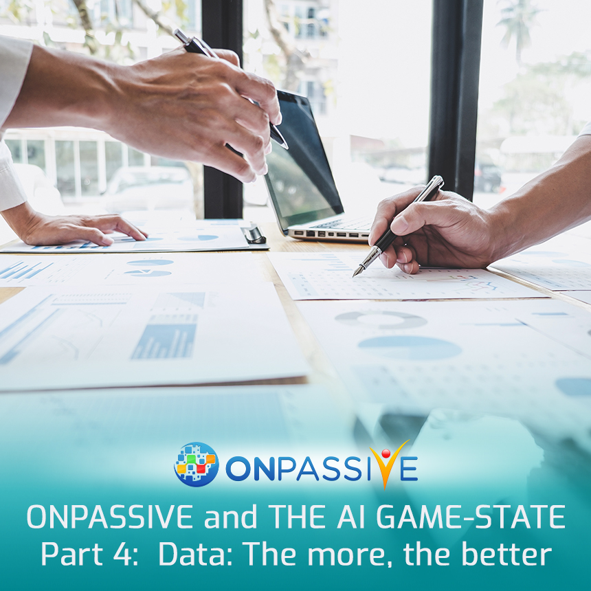 Data The more the better