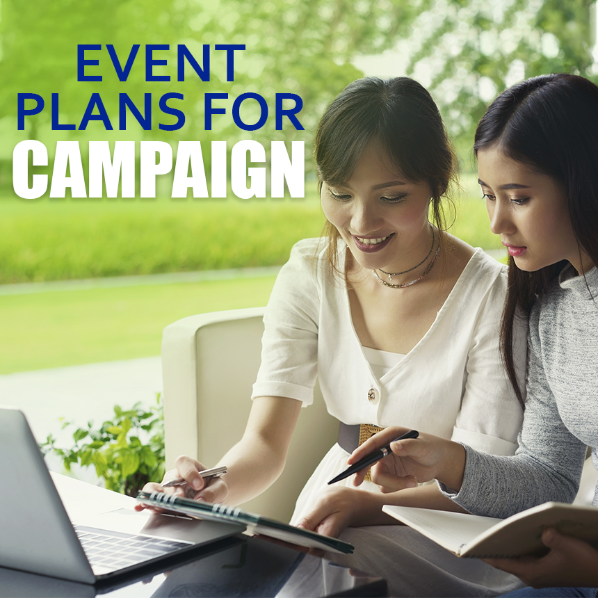 Event Plan Campaigns for Business
