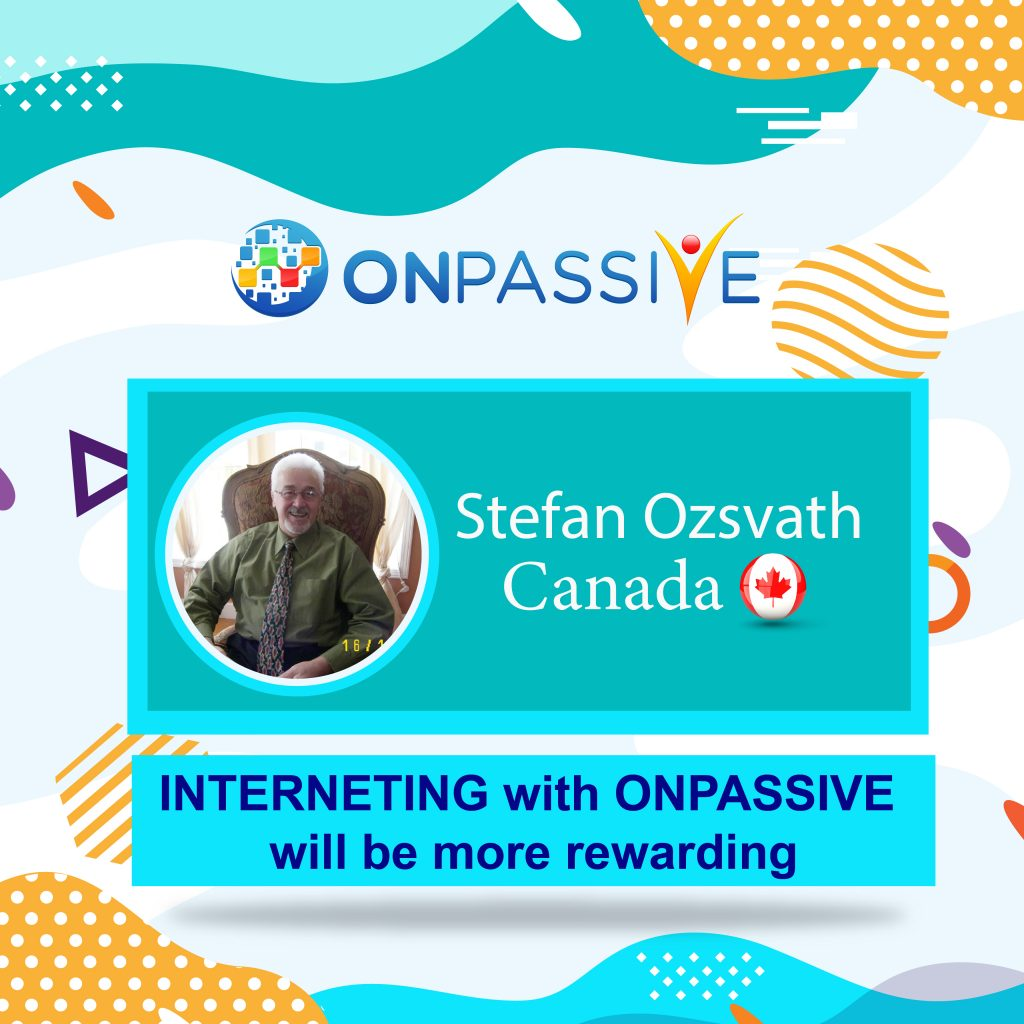 INTERNETING with ONPASSIVE