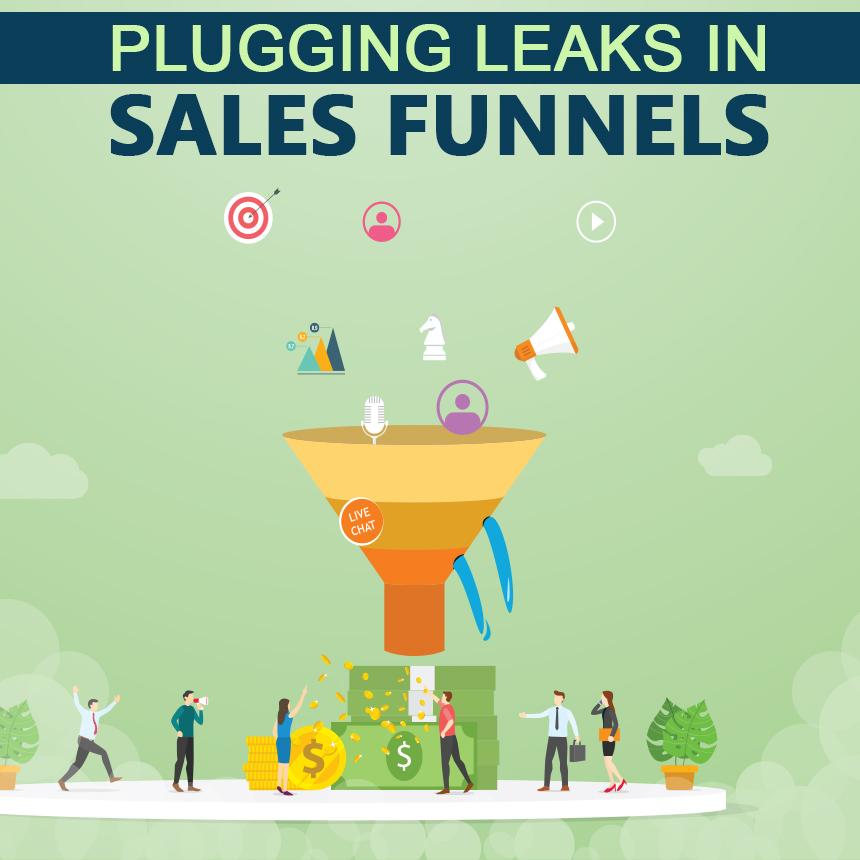 Leaks in sales funnels