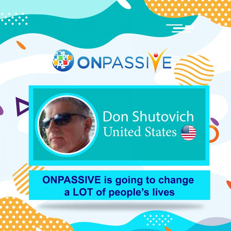 ONPASSIVE is going to change