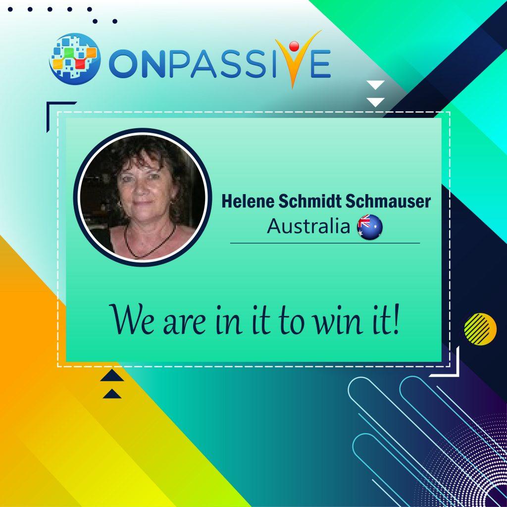 Helene Schmidt ONPASSIVE Community
