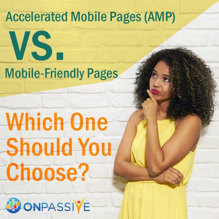 amp vs mobile friendly