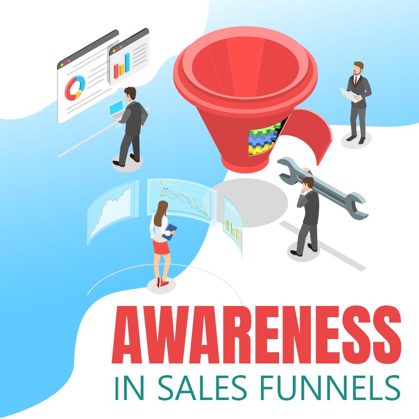 Awareness in sales funnel