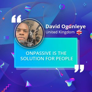 ONPASSIVE is the solution