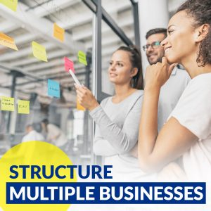structuring multiple businesses