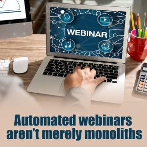 automated webinars
