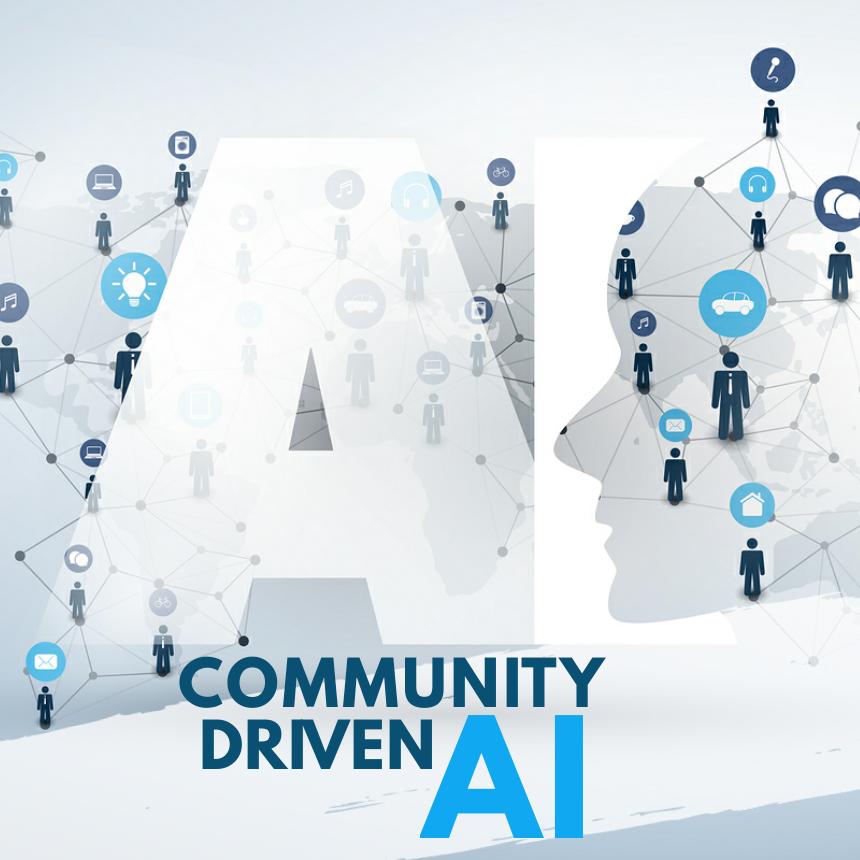 Community-driven AI