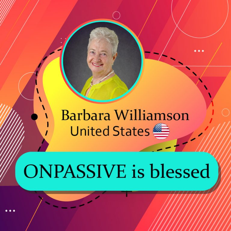 ONPASSIVE is blessed