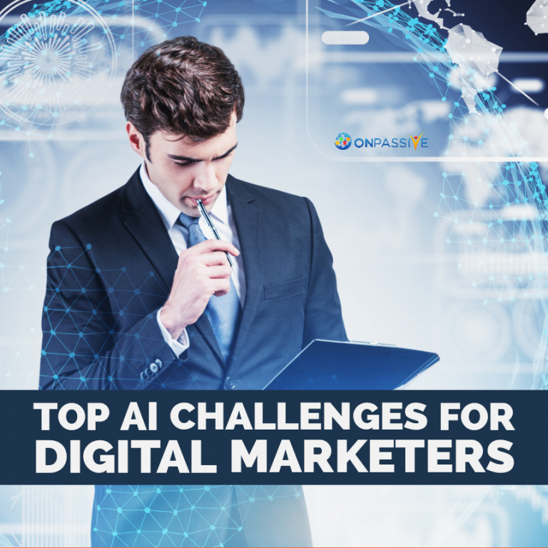 AI Challenges Facing by Digital Marketers