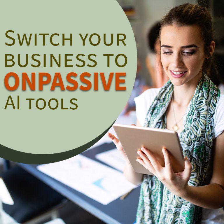 ONPASSIVE AI tools
