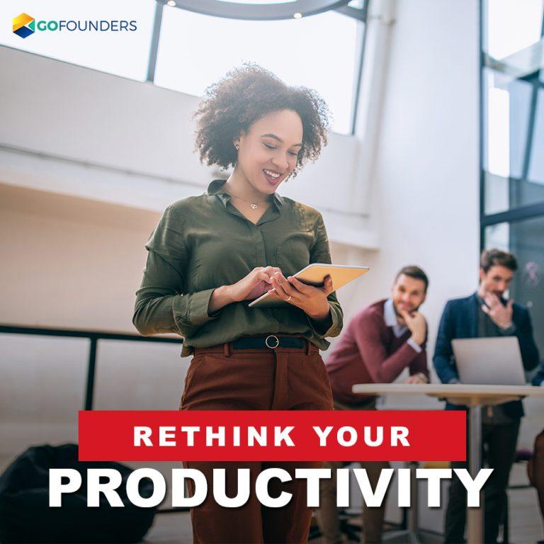 rethink productivity