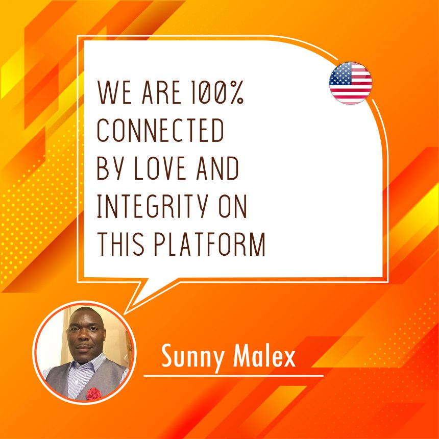 100% Connected by Love and Integrity with ONPASSIVE