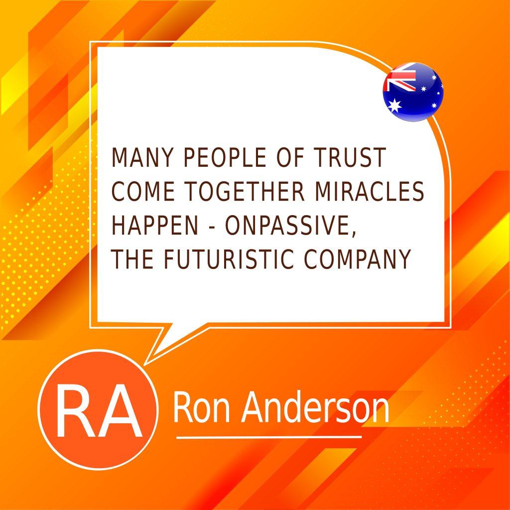 ONPASSIVE, the Futuristic Company
