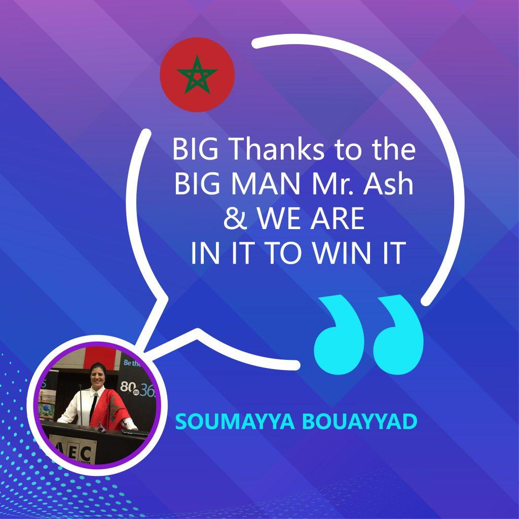 Thanks to the BIG MAN Mr. Ash
