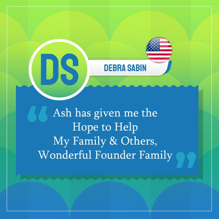 the Hope to Help My Family & Others, Wonderful Founder Family