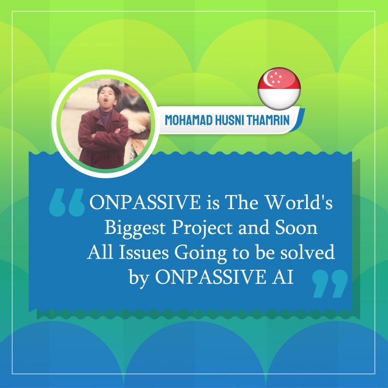 All Issues Going to be solved by ONPASSIVE AI