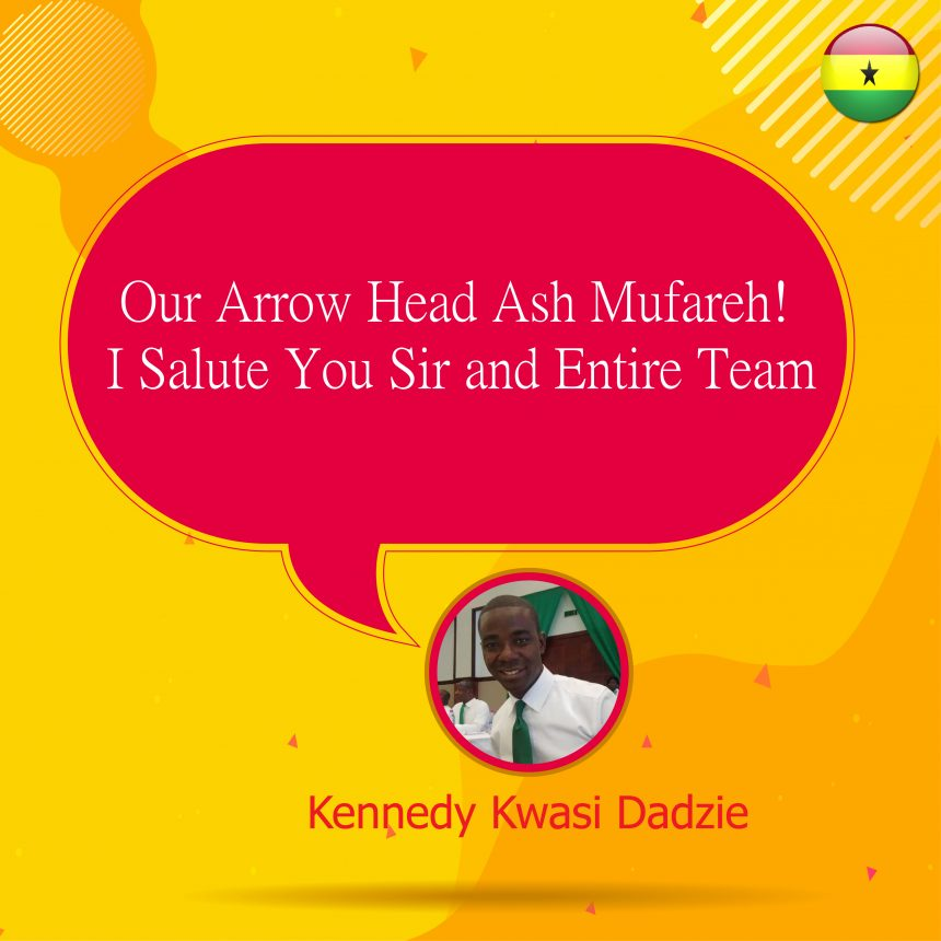 Our Arrow Head Ash Mufareh