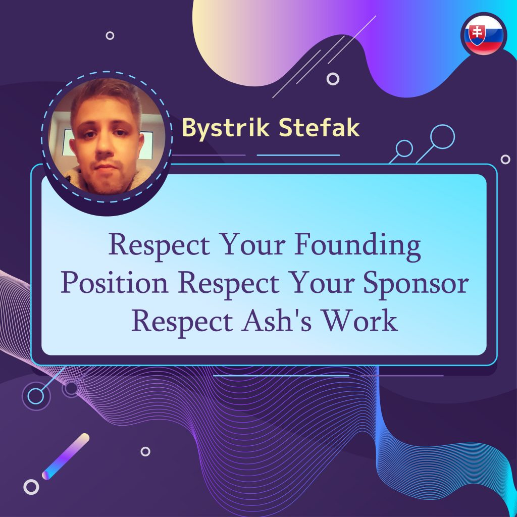 Respect Your Founding Position
