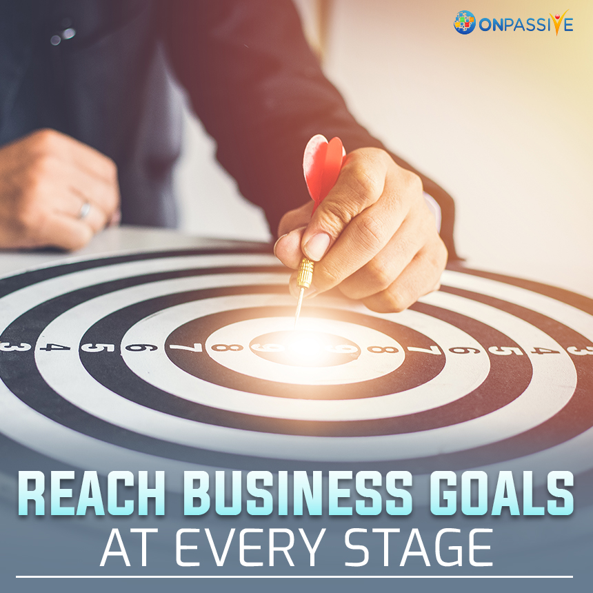 Five Stages of Small Business Growth with ONPASSIVE