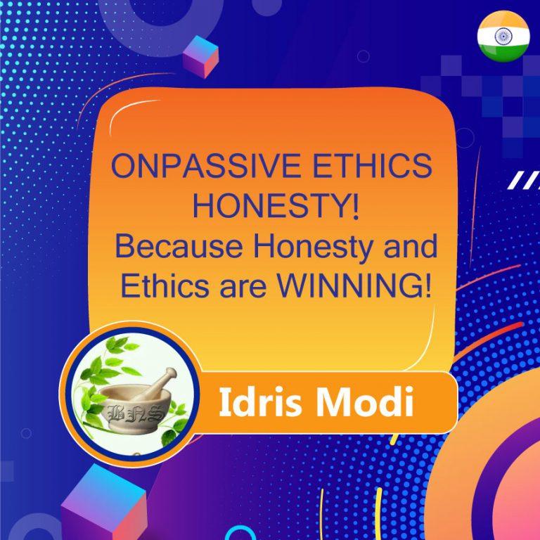 ONPASSIVE ETHICS HONESTY