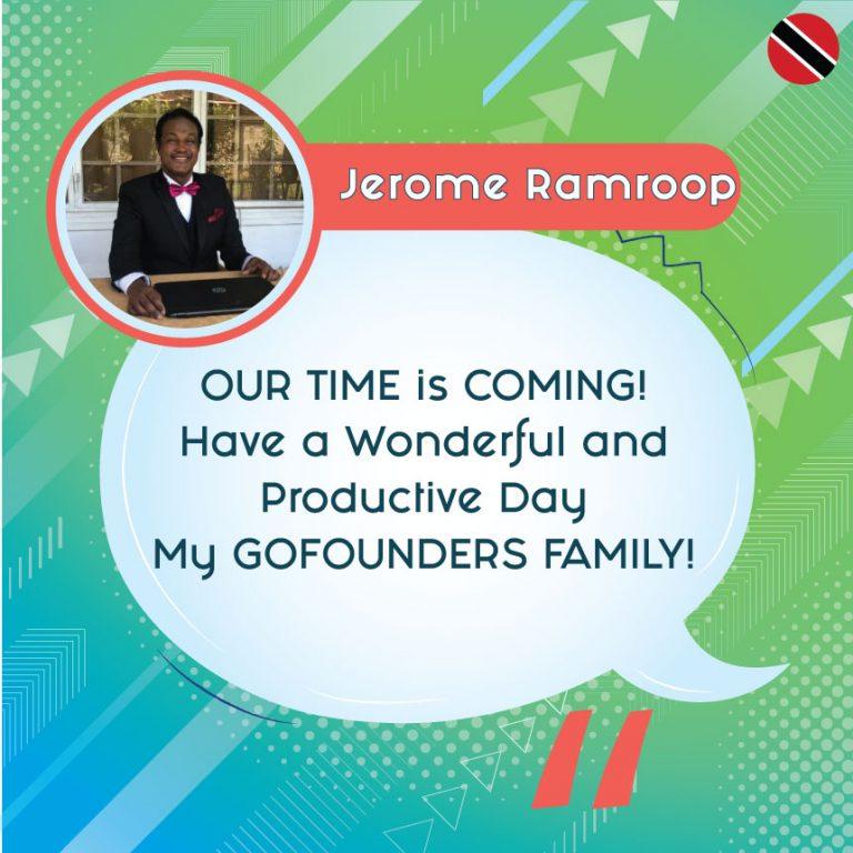 Jerome Ramroop - Onpassive Founder