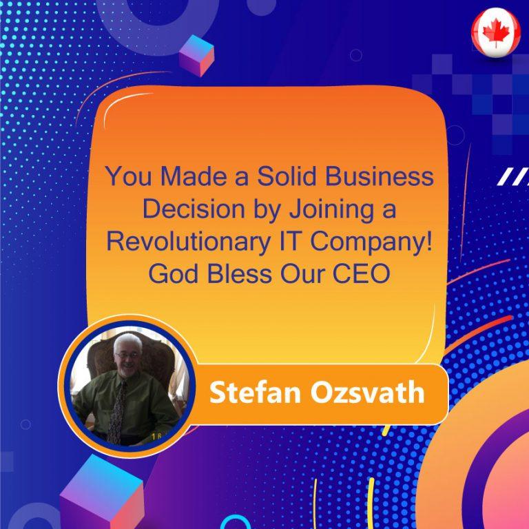 Joining a Revolutionary IT Company