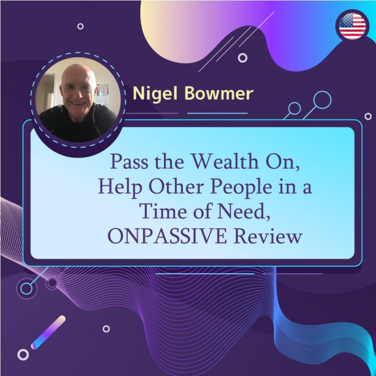 Pass the Wealth On, Help Other People in a Time of Need