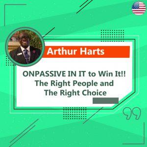 Arthur Harts - Onpassive Founder