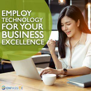 Technology helps a business grow