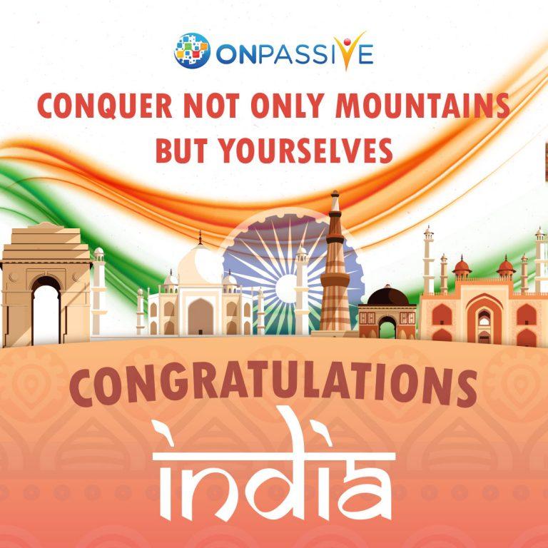 Congratulation India