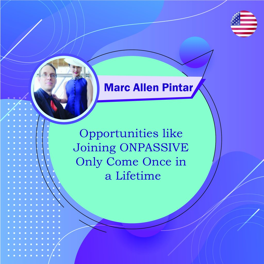 Opportunities like Joining ONPASSIVE