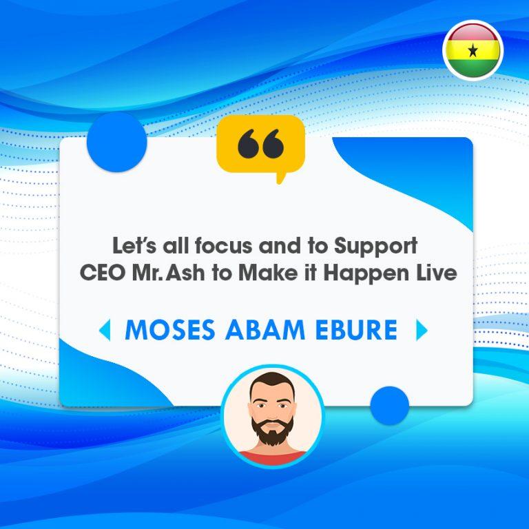 Moses Abam Ebure