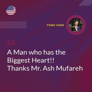 A Man who has the Biggest Heart