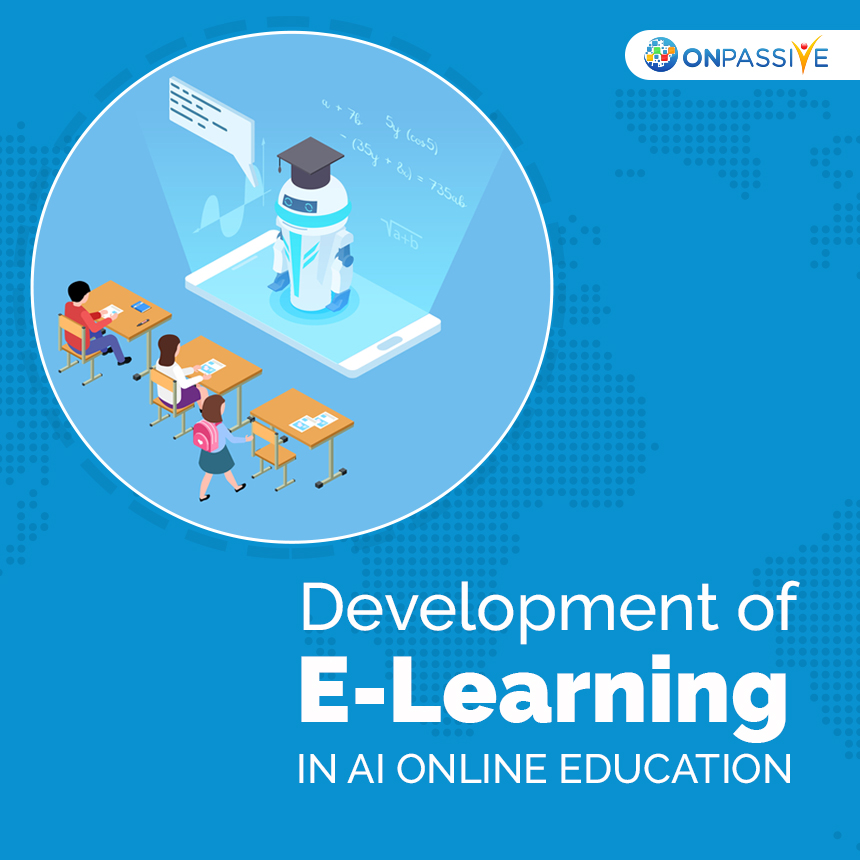 Development of E-Learning in AI Online Education
