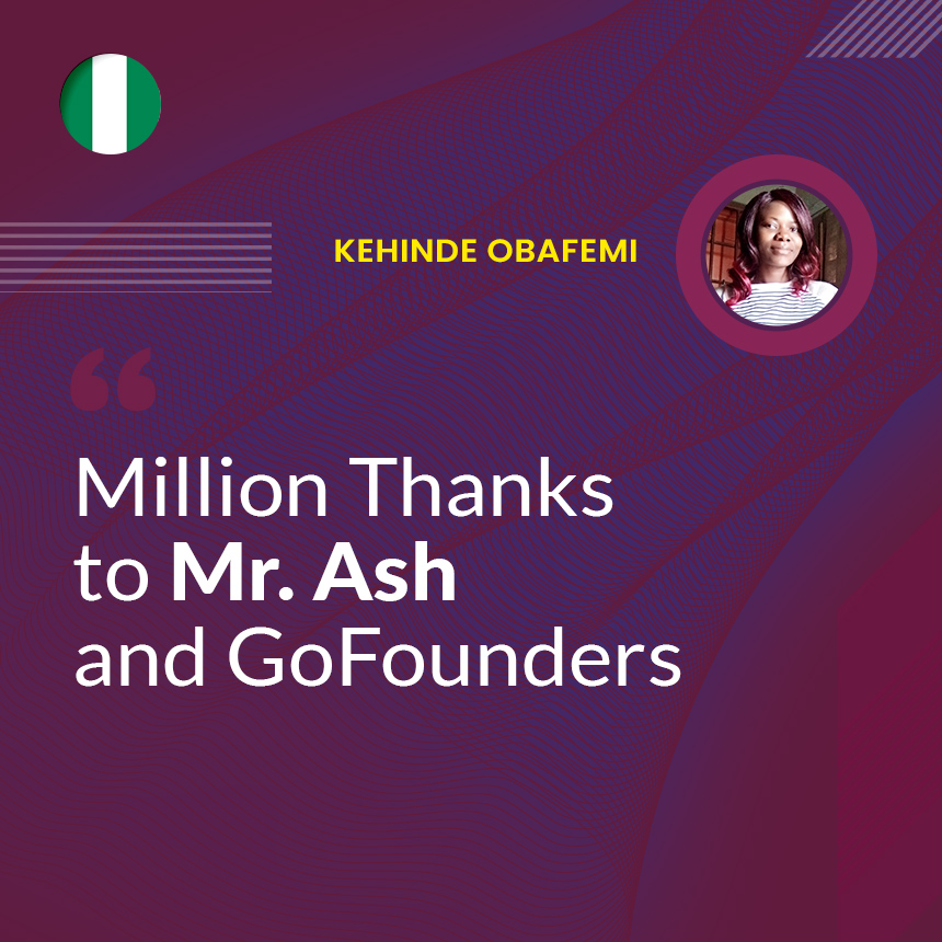 Million Thanks to Mr. Ash and GoFounders