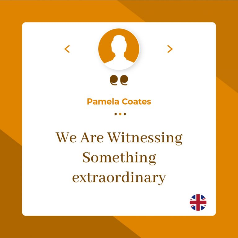 We Are Witnessing Something Extraordinary