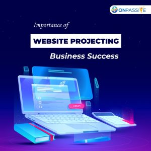 importance of website projecting business success
