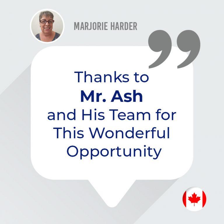 Marjorie Harder