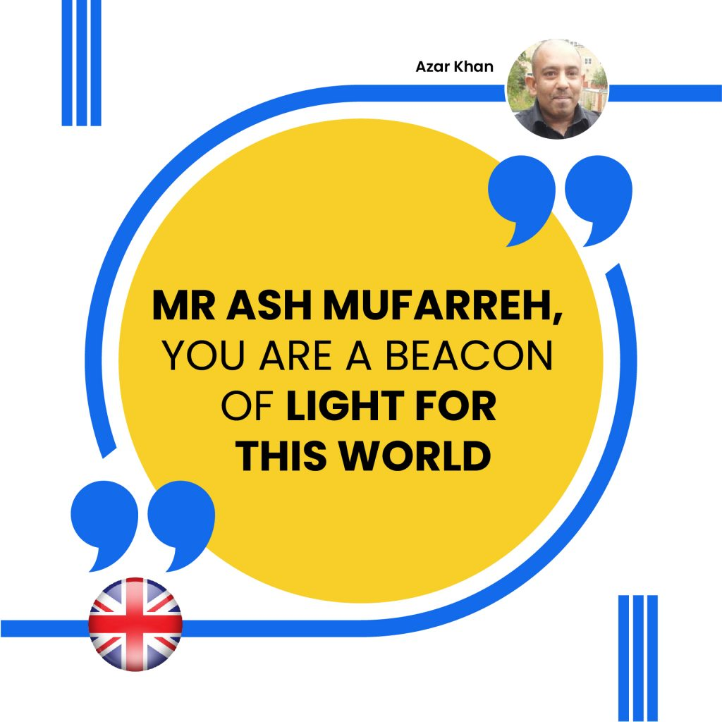 MR ASH MUFARREH